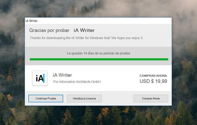 Licencia Ia Writer For Windows Descargar