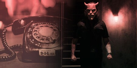 Black Phone Mask