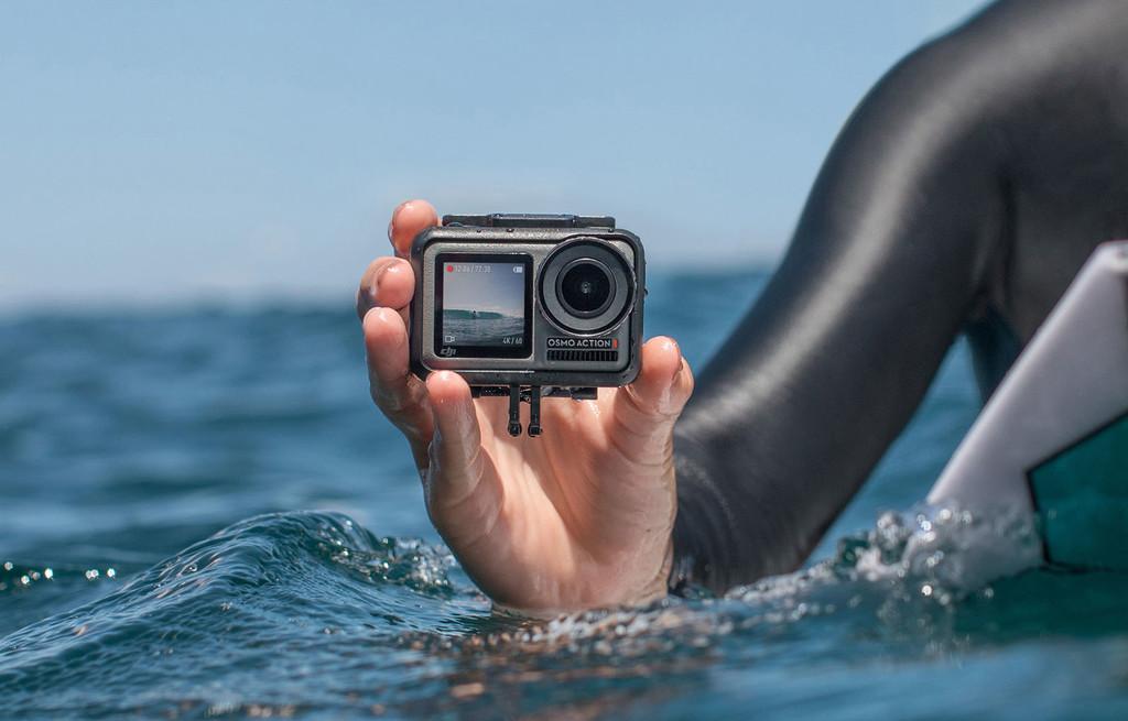 DJI Osmo Action: doble pantalla y 4K para la inmersión de DJI en el mundo de las cámaras de acción