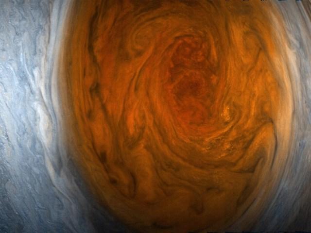 Jupiter Red Spot New 7