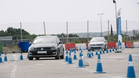 VW driving experience