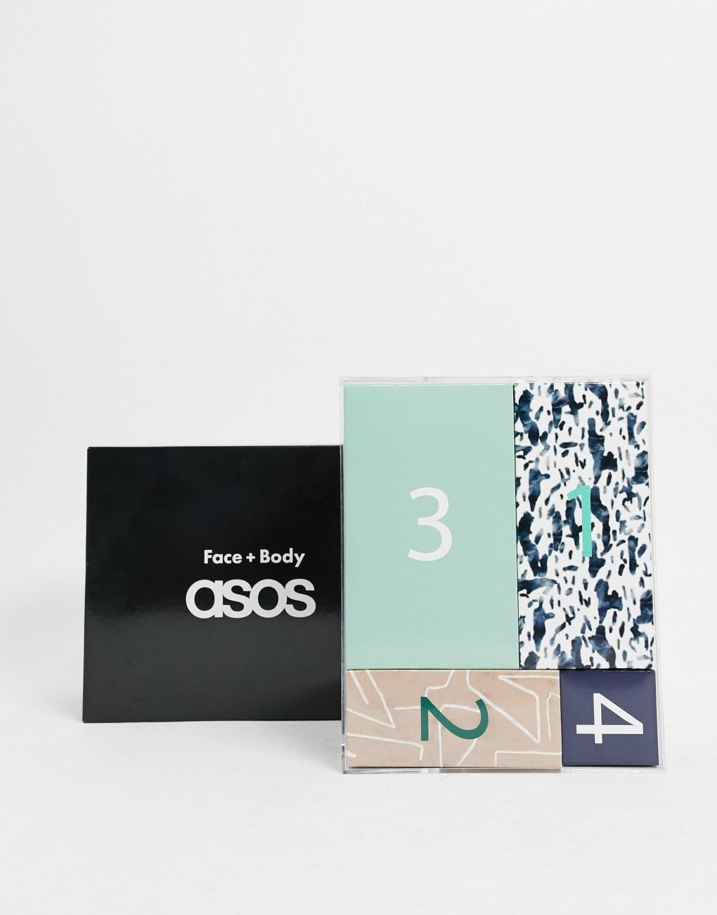 Calendario de adviento de 12 días con productos de belleza de ASOS