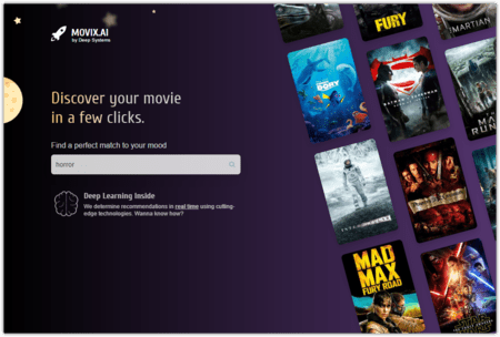 Movix Ai Discover Your Movie In A Few Clicks