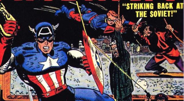 Captain America Commie