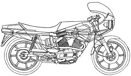 Moto Morini 500 Turbo, la rapaz sobrealimentada de los 80