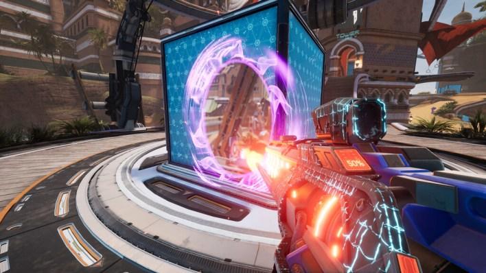 'Splitgate' lo está petando: mezclar un shooter con 'Portal' da como resultado un FPS de lo más divertido