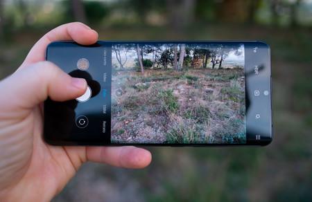 Xiaomi Mi Note 10 Agarre App Camara