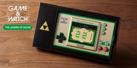Esta irresistible Game & Watch: The Legend of Zelda será la celebración de bolsillo del 35 aniversario de la saga de culto [E3 2021]