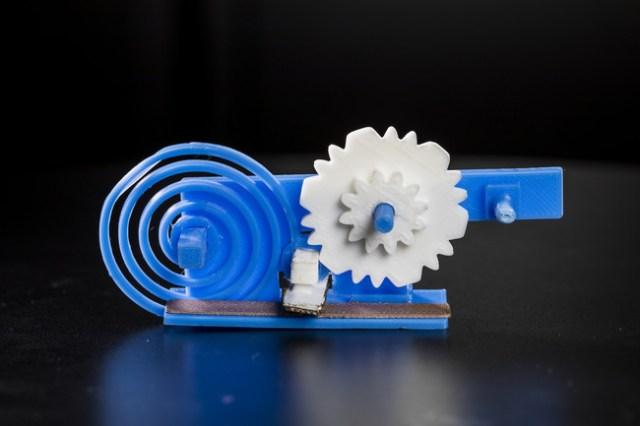 engranaje 3D