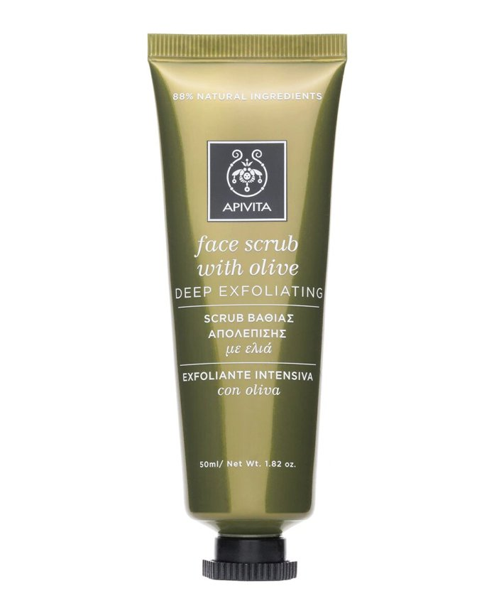 Intensive Scrub with Olive Apivita