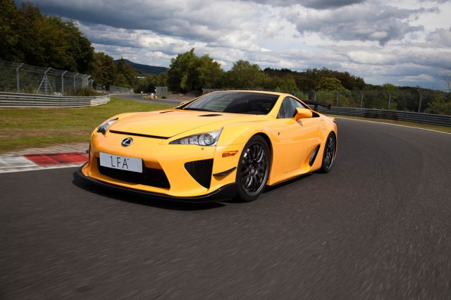 Lexus Lfa Nurburgring Performance Package