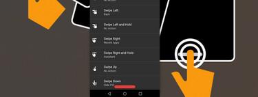 Así funciona Navigation Gestures, la app que trae los gestos del iPhone X a cualquier Android