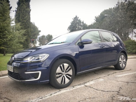 Volkswagen E-Golf Prueba lateral