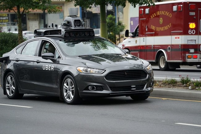 Self Driving Uber Prototype In San Francisco 1024x683