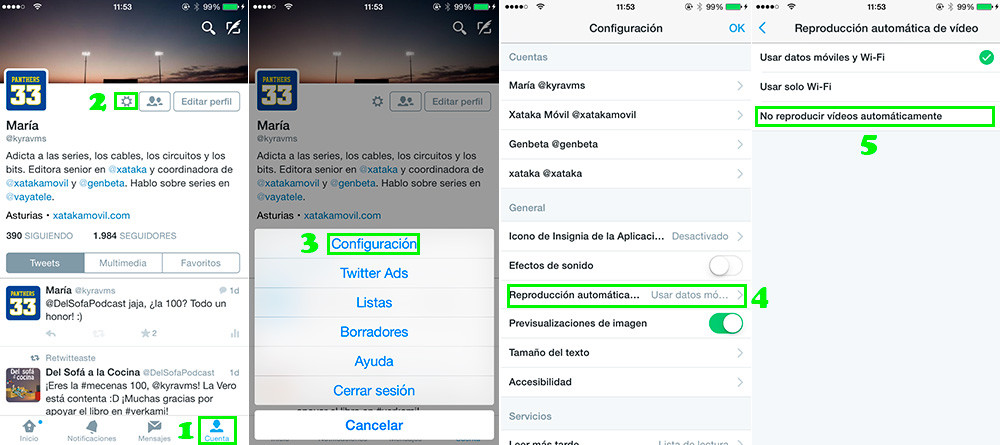 Reproducir Videos Twitter Ios