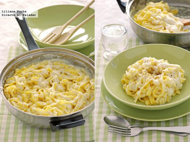 Cremosa salsa con coliflor escondida para pasta Receta