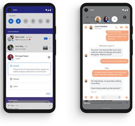 Android 11 Conversaciones