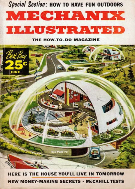 Mechanix Illustrated Home Of Tomorrow