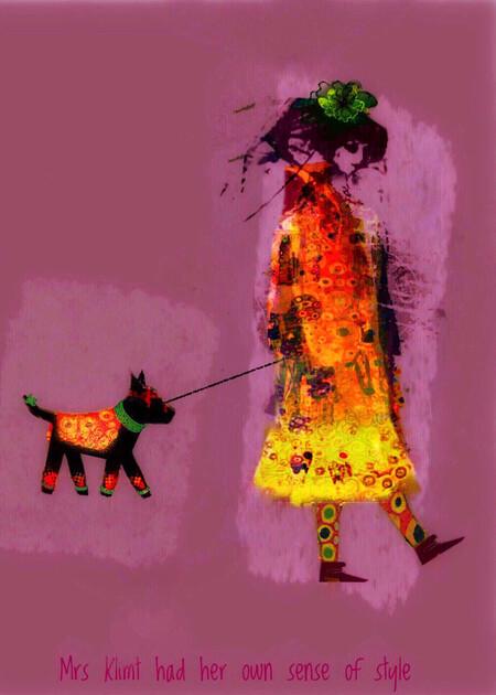 Jen Mckenzie Mrs Klimt Had Her Own Sense Of Style Visualfx Iphonexr Australia