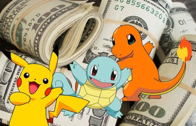 Pokemon Go ingresos