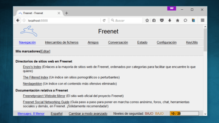 Freenet Index