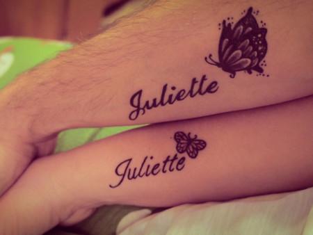 El Nombre De Tus Hijos En La Piel 17 Ideas De Tatuajes Que Te