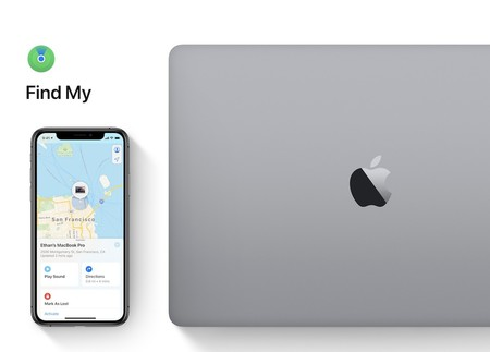 this is how the service that allows you to locate your Macbook in a magical way works