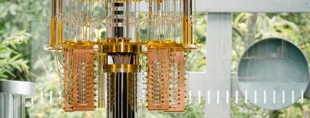 Ordenador cuántico de IBM. Imagen: IBM.