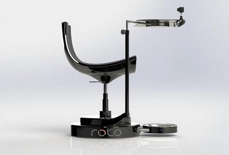 Roto es la silla que todo usuario de realidad virtual