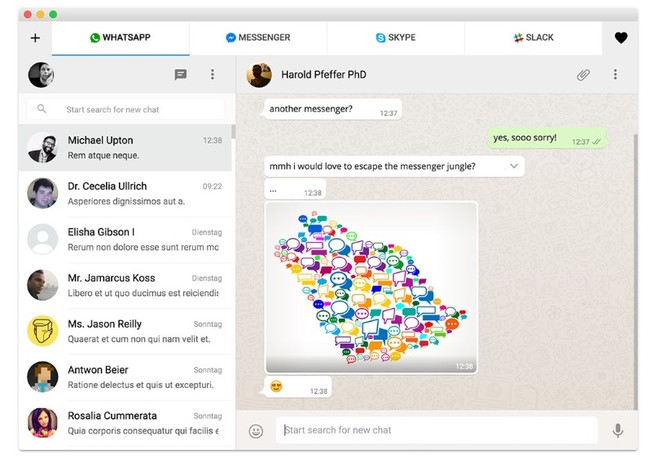 Window Y All In One Messenger