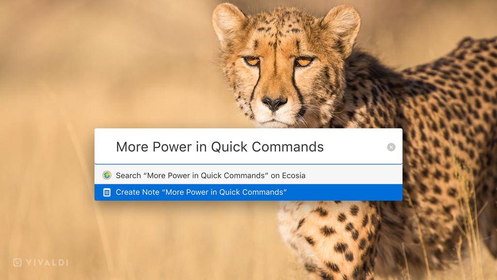 Ya está disponible Vivaldi 2.1, la versión definitiva para quienes aman usar comandos y atajos de teclado