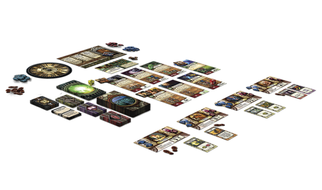 Componentes y disposición videojuego El Símbolo Arcano