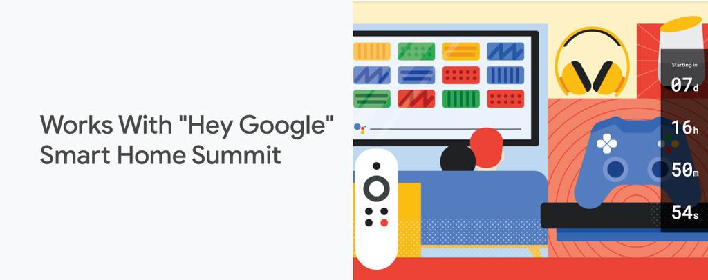 Google convoca un evento en julio para dar a conocer sus novedades de 'smart home'