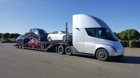 Camión eléctrico Tesla Semi