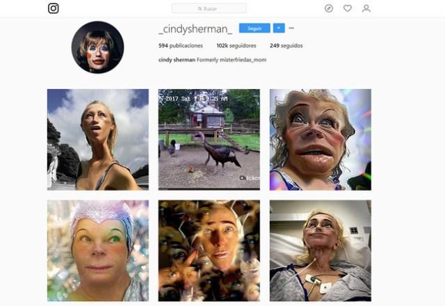 Cindysherman Instagram