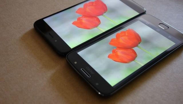 Pantalla Motocicleta G5s Vs Xiaomi Mi A1