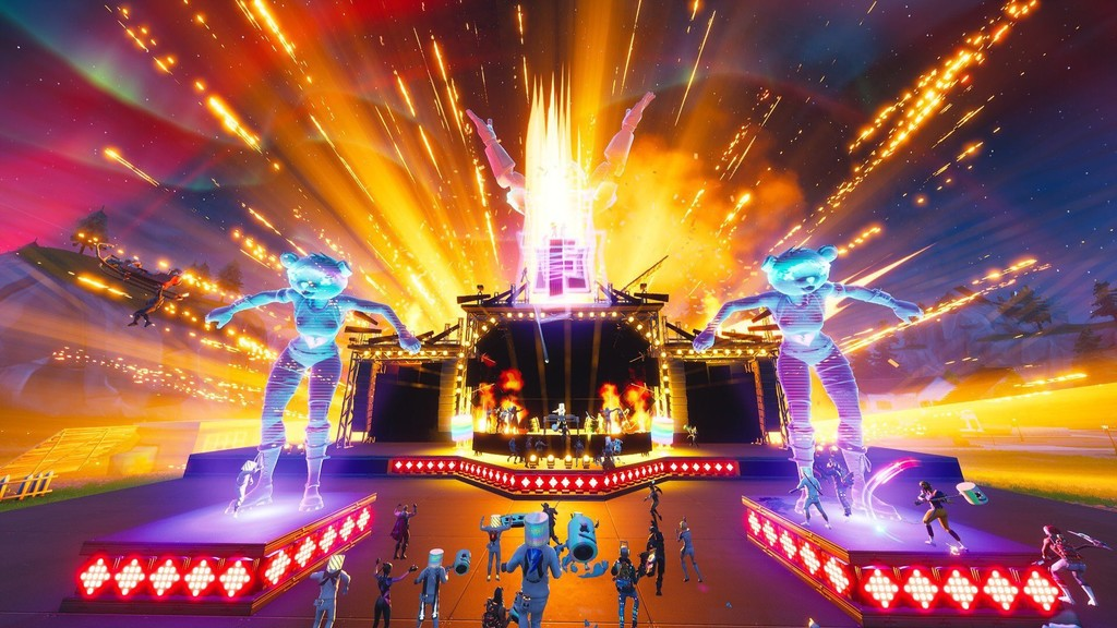 Permalink to Más de 10 millones de asistentes, Fortnite hace historia con un concierto en directo dentro del propio videojuego