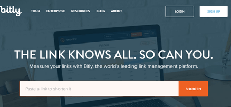 Bitly Url Shortener And Link Management Platform