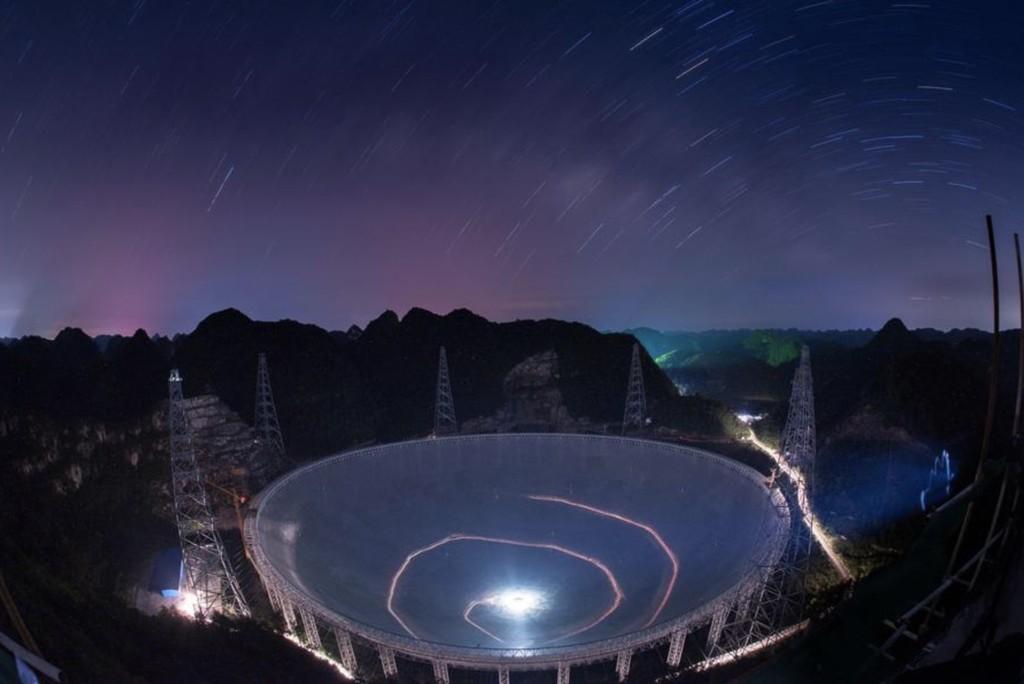 El gigantesco telescopio de 500 metros de China terminó sus pruebas y ya está listo para buscar pistas sobre el origen del universo