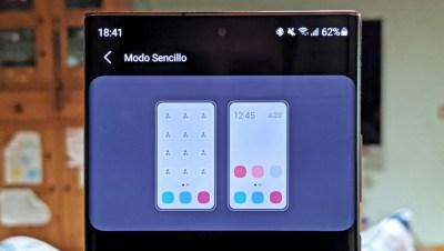 Cómo activar el modo sencillo de One UI en los Samsung Galaxy y para qué sirve