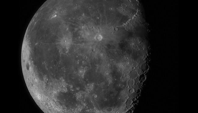 Permalink to Esta increíble foto de 100 megapíxeles de la Luna te dejará sumergirte en sus cráteres como nunca antes