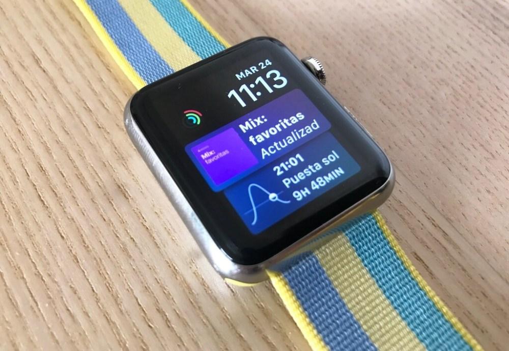 Apple lanza watchOS 7.0.3 para solucionar un error en los Apple Watch Series 3