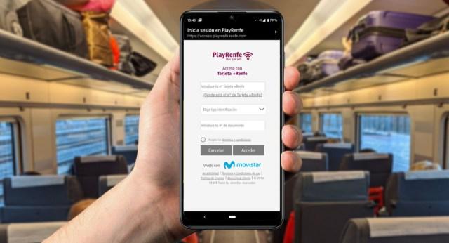 WiFi en trenes Renfe: cómo conectarse y en qué trenes está disponible