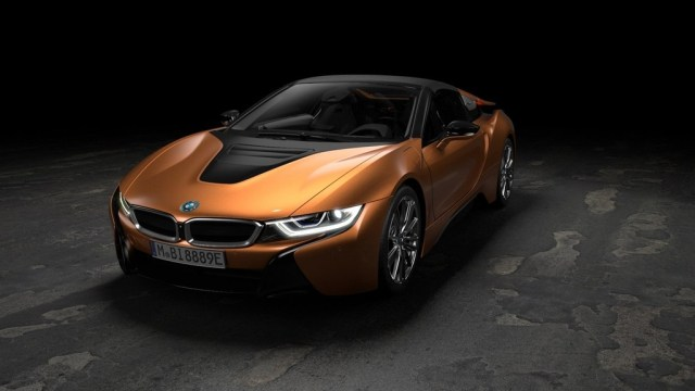 BMW i8 Roadster luces