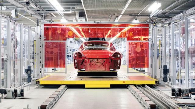 Porsche 911 Targa cuatro GTS