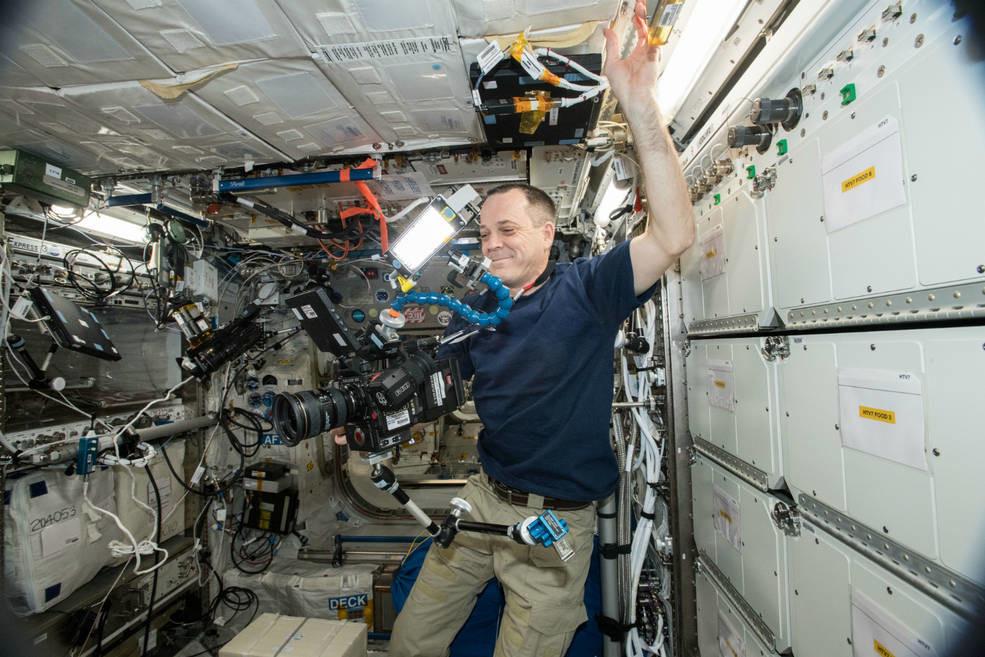 La Estación Espacial estrenó su cámara 8K y la NASA nos muestra el 1° vídeo con esta dimensión grabado desde el espacio