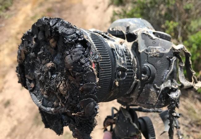 Permalink to Esta cámara quedó frita tras el lanzamiento de un Falcon 9 de Space X, pero sus fotos sobrevivieron
