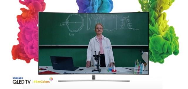 Samsung Seecolors Aplicación For Qled Tv Main