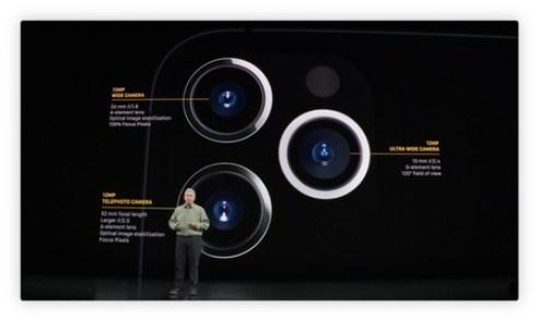 Camaras iPhone 11 pro