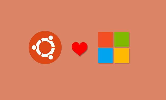 Ubuntu loves Microsoft